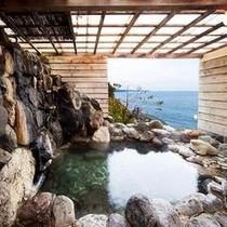 岩風呂貸切露天風呂