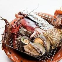 海鮮炭火焼デラックスプラン