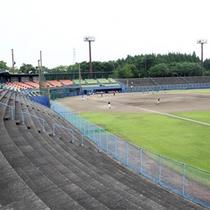 *野球場/2万人の収容のさつき球場と、第二球場・ソフトボール球場も整備しています。