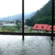 *大浴場からの景色