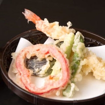 *お料理一例(天ぷら)