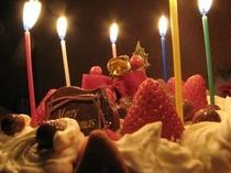 クリスマスケーキの一例