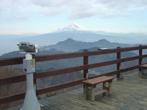 かつらぎ山 富士山展望台