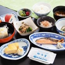 ■【朝食一例】体に優しい和食をご用意。
