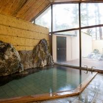 ■【男湯内風呂】外の景色を見ながらゆっくり疲れをお取りください。