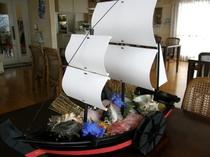 1日1隻限定の『黒船盛り』