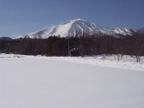浅間山〜真冬