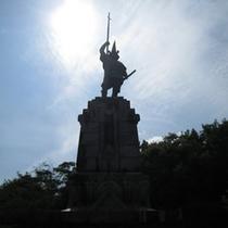 本妙寺加藤清正公銅像