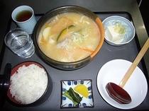 夕食(ほうとう)