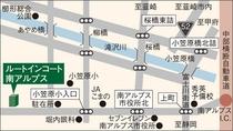 ホテル周辺MAP