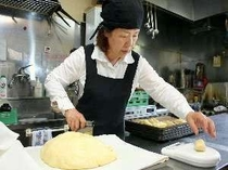 手作りパンを提供しています