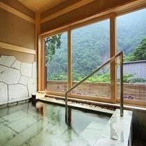 貸切風呂「沢桔梗」