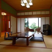 1階和室ミモザ/2間+庭(洗面室、洗い場付きバス・トイレ別)