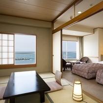 海側和洋室一例