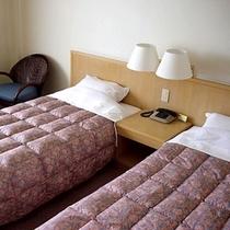 洋室ツインベッドルーム