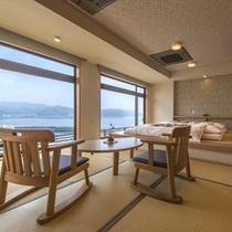 ◆海眺めの特別室≪16畳+小上がり4.5畳ステージベッド≫