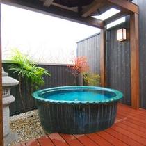 貸切風呂(露天陶器風呂)