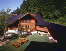 夏のログハウス