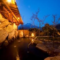 大浴場露天風呂(望岳の湯・うたせ)