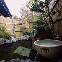 露天風呂とかかり湯