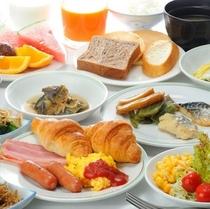 種類たくさん☆和洋バイキング朝食