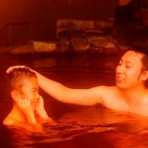 家族で大浴場