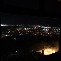 タウンビューの客室から目前に広がる絶景!