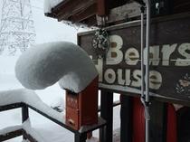 雪のリーゼント