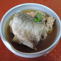 *【夕食一例】富山湾で獲れた季節の魚の煮付け