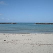 *周辺観光スポット:八重浜海水浴場