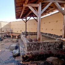 *【露天風呂】ナトリウム塩化物泉。空を眺めながらのんびり癒されてください
