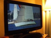 全室26型液晶テレビ
