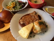 ビサイドランチお肉ver.(例2)