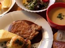 ビサイドランチお肉ver. (例3)