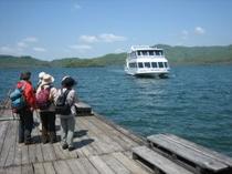 桧原湖遊覧船