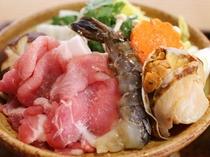 えらべるメイン料理-白金豚豆乳鍋-