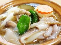 えらべるメイン料理-イカの陶板焼き-