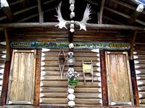 コテージ玄関