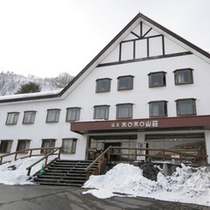 【外観】雪景色の冬