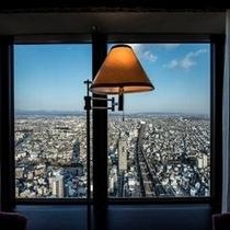*東側客室からの眺望*
