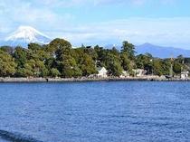 富士山と大瀬岬