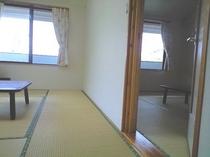 別館和室6+6畳