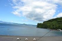 海側客室からの眺望、2