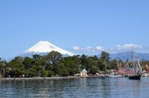 4月4日 大瀬祭りと富士山