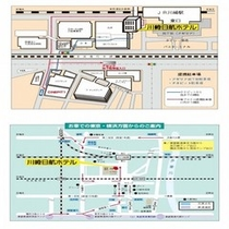アゼリア地下駐車場MAP