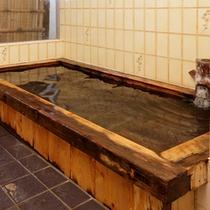 ≪檜の貸切風呂≫ご家族・カップルで気兼ねなく名湯をお愉しみいただけます