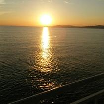 *【絶景の夕陽】忙しい日常を離れて、ゆったりとした時間をお過ごし下さい。
