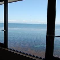 【食事処】海が見えるお食事処。