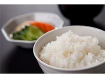 【湯布院米のご飯】