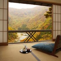 青芭蕉からの景観(秋)